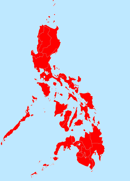 Dengue is endemic all over the Philippines