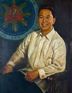 Ferdinand Marcos official painting Malacañang Palace