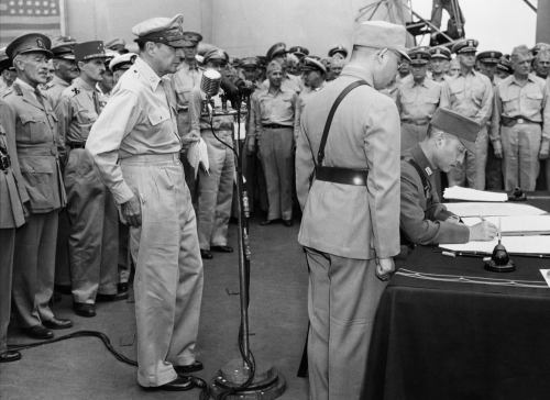 Japanese surrender of the Philippines on September 3, 1945