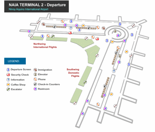 Click to enlarge NAIA-2 Arrival map in new tab