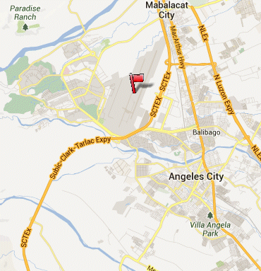 Angeles City (Clark) - Diosdado Macapagal International Airport