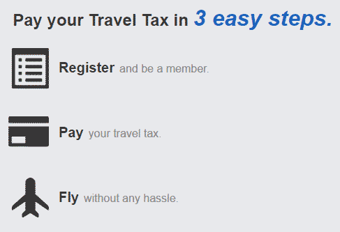 Travel Tax online