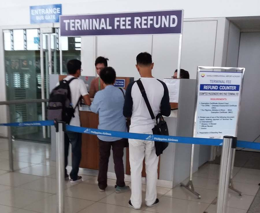 Terminal Fee Refund