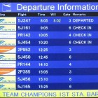 On-line Flight Status
