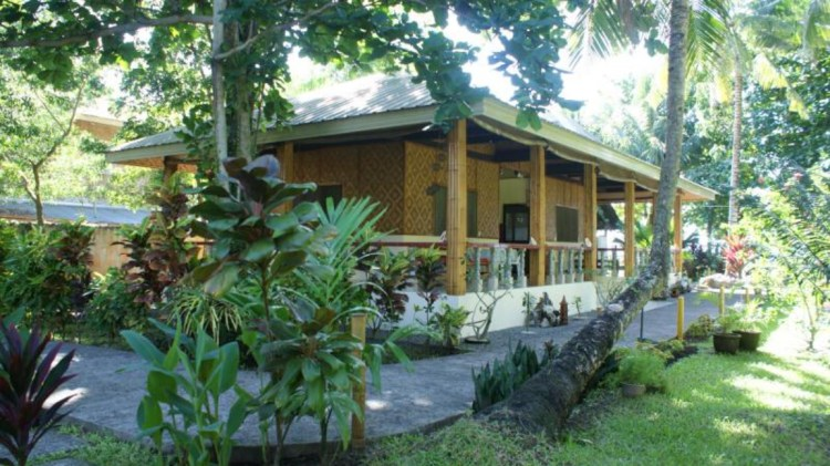 The Silent Gardens Beach Guesthouse in Camiguin
