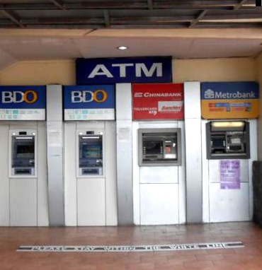 ATMs in Manila airport